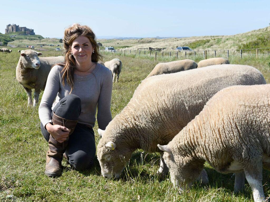 Christina Johnson, Fowberry Farm, Bamburgh, Northumberland