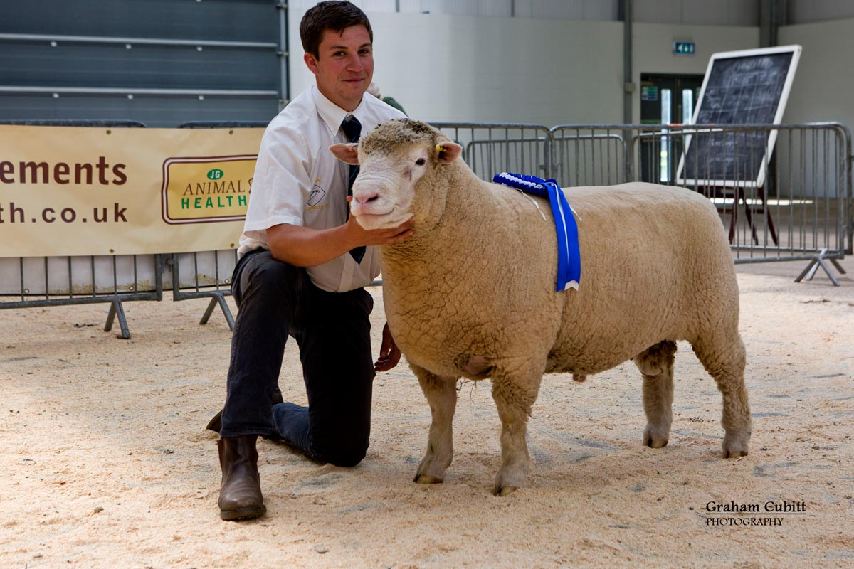 Richard Rossiter with the Reserve Champion